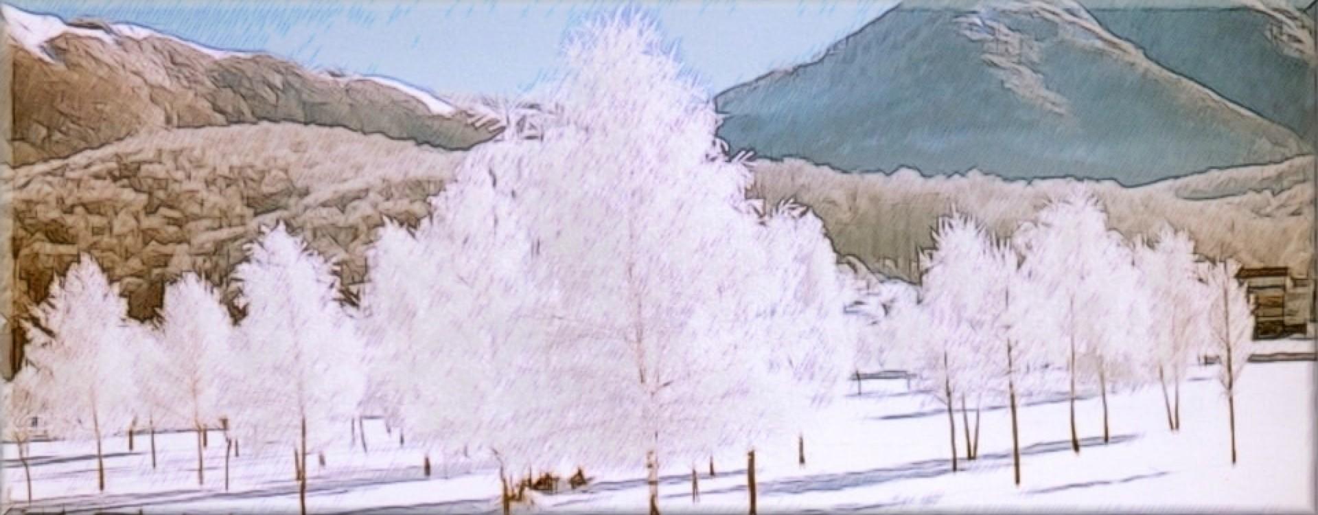Inverno sull'Altopiano del LAceno